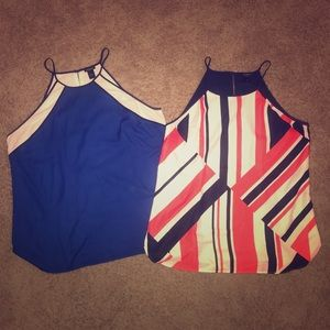 Ann Taylor sleeveless tops size XL